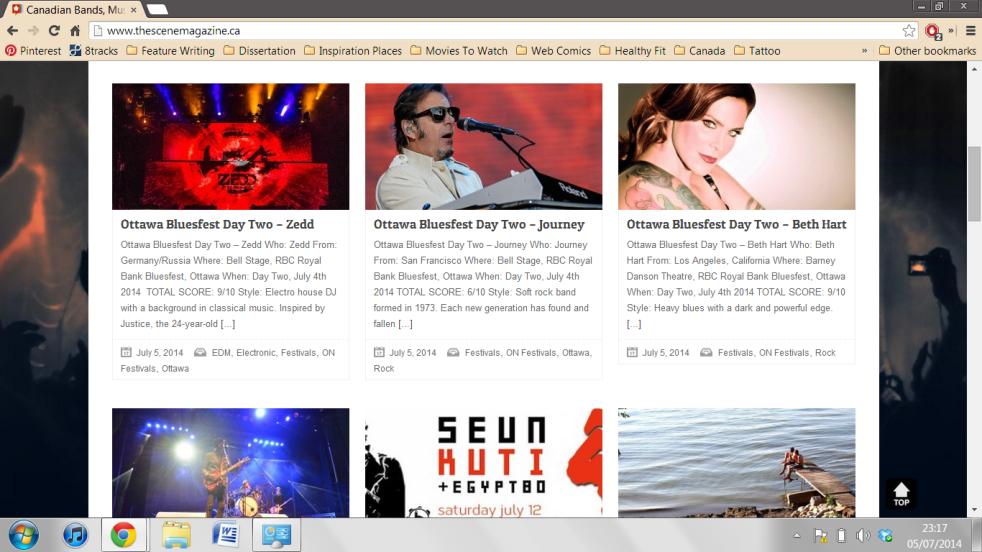 bluesfest my three articles
